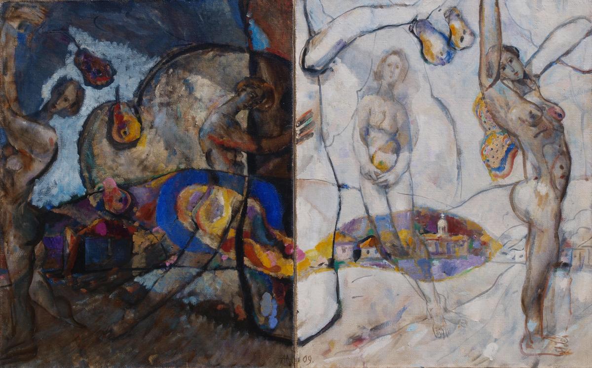 Nightand Day artwork by Anton Antonov - art listed for sale on Artplode
