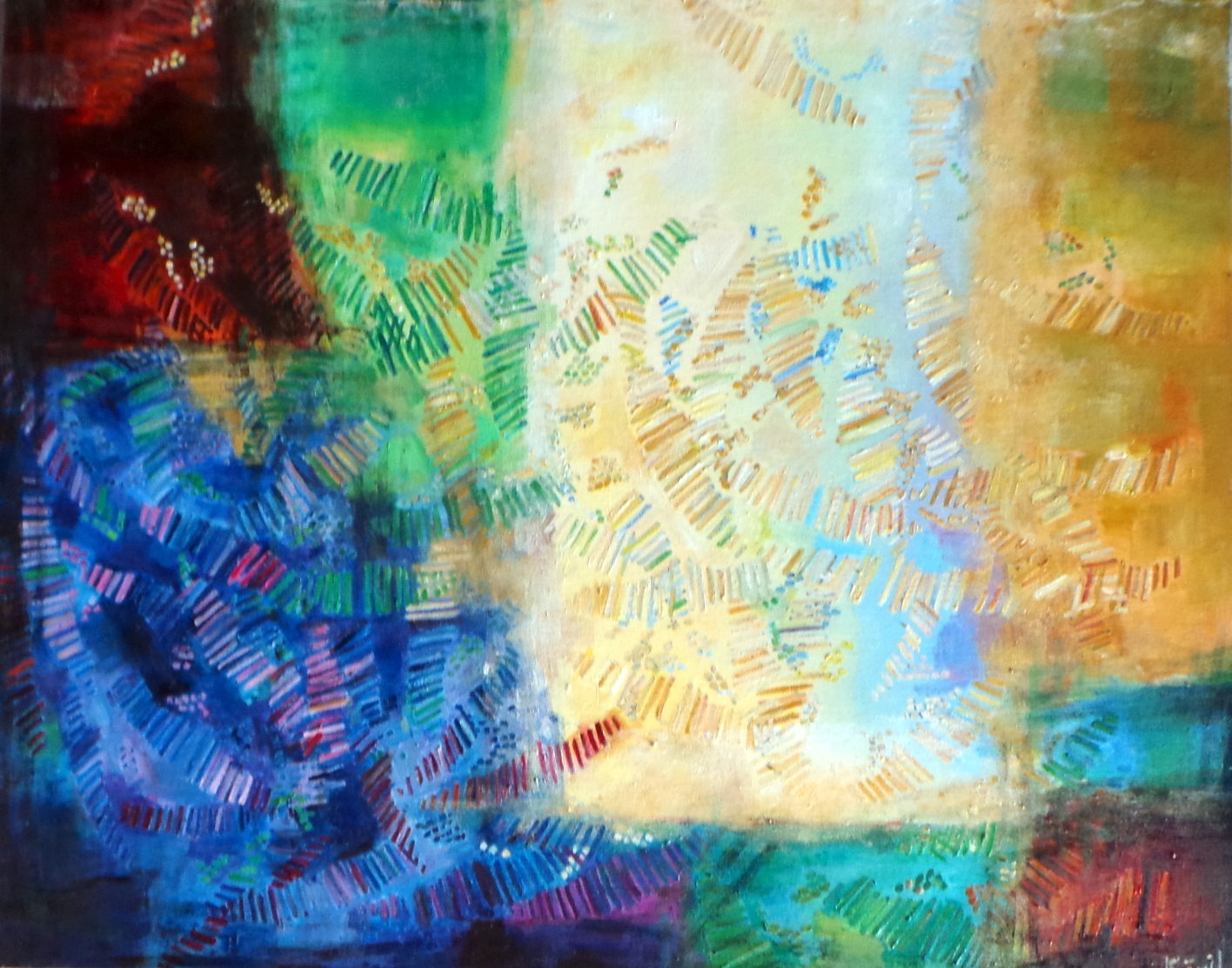 The absorbent me artwork by Aniqa Fatima - art listed for sale on Artplode