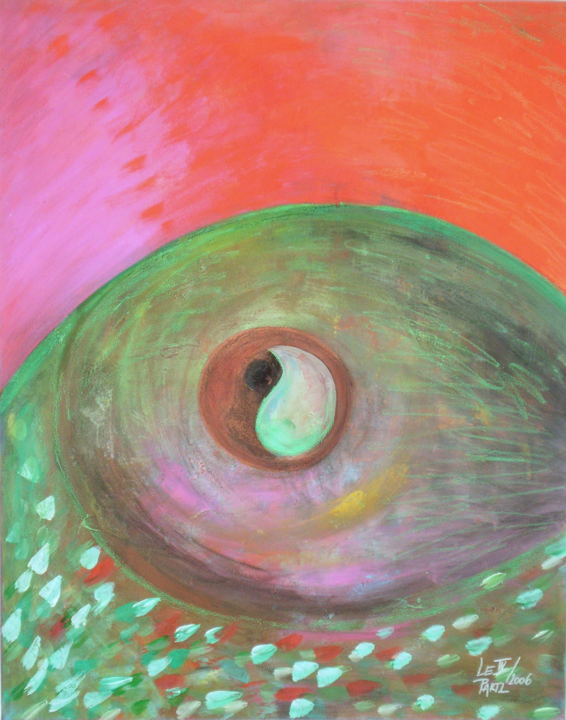 Interplay artwork by Lenka Le Partl - art listed for sale on Artplode