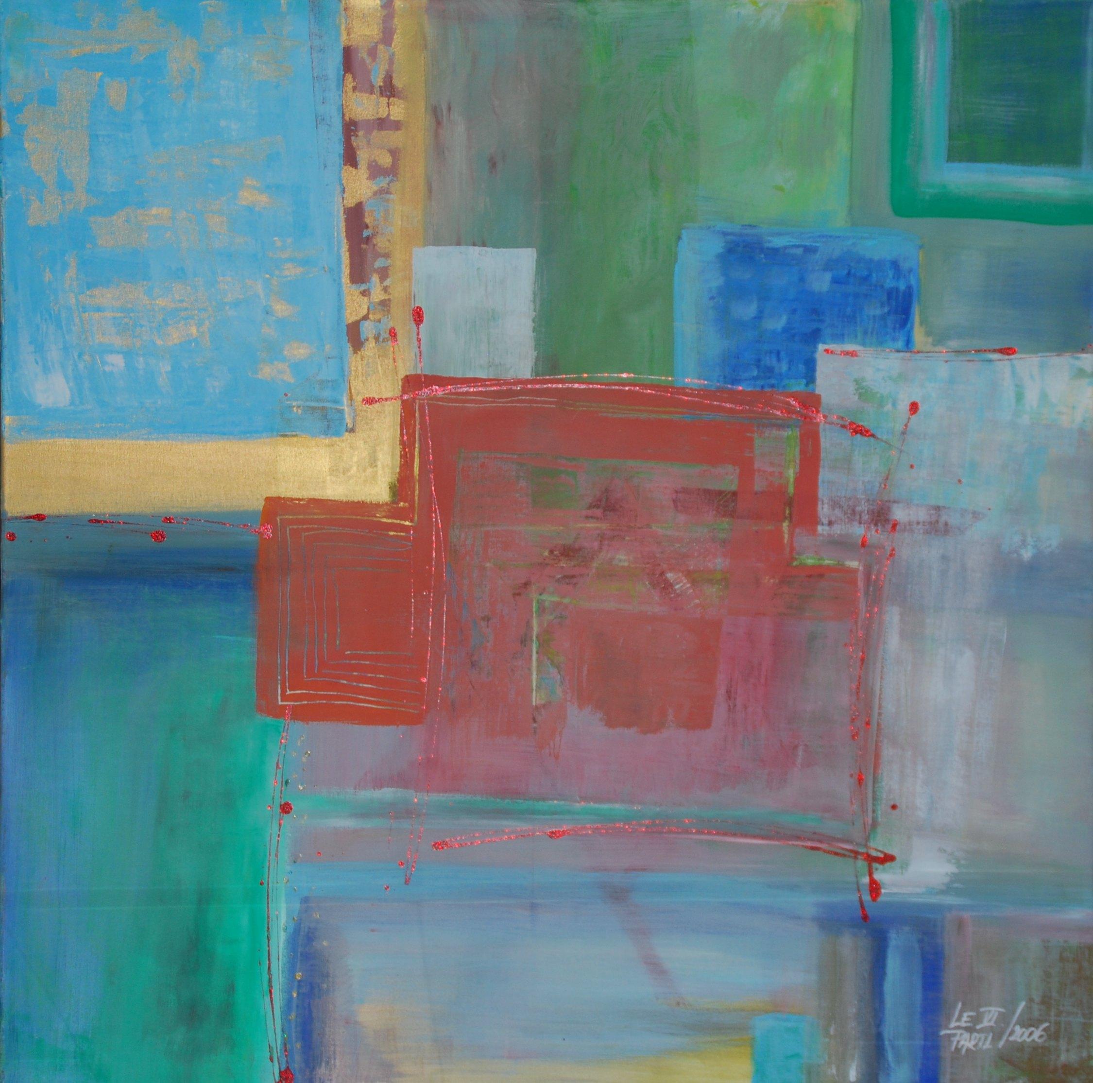 Blue Heaven artwork by Lenka Le Partl - art listed for sale on Artplode