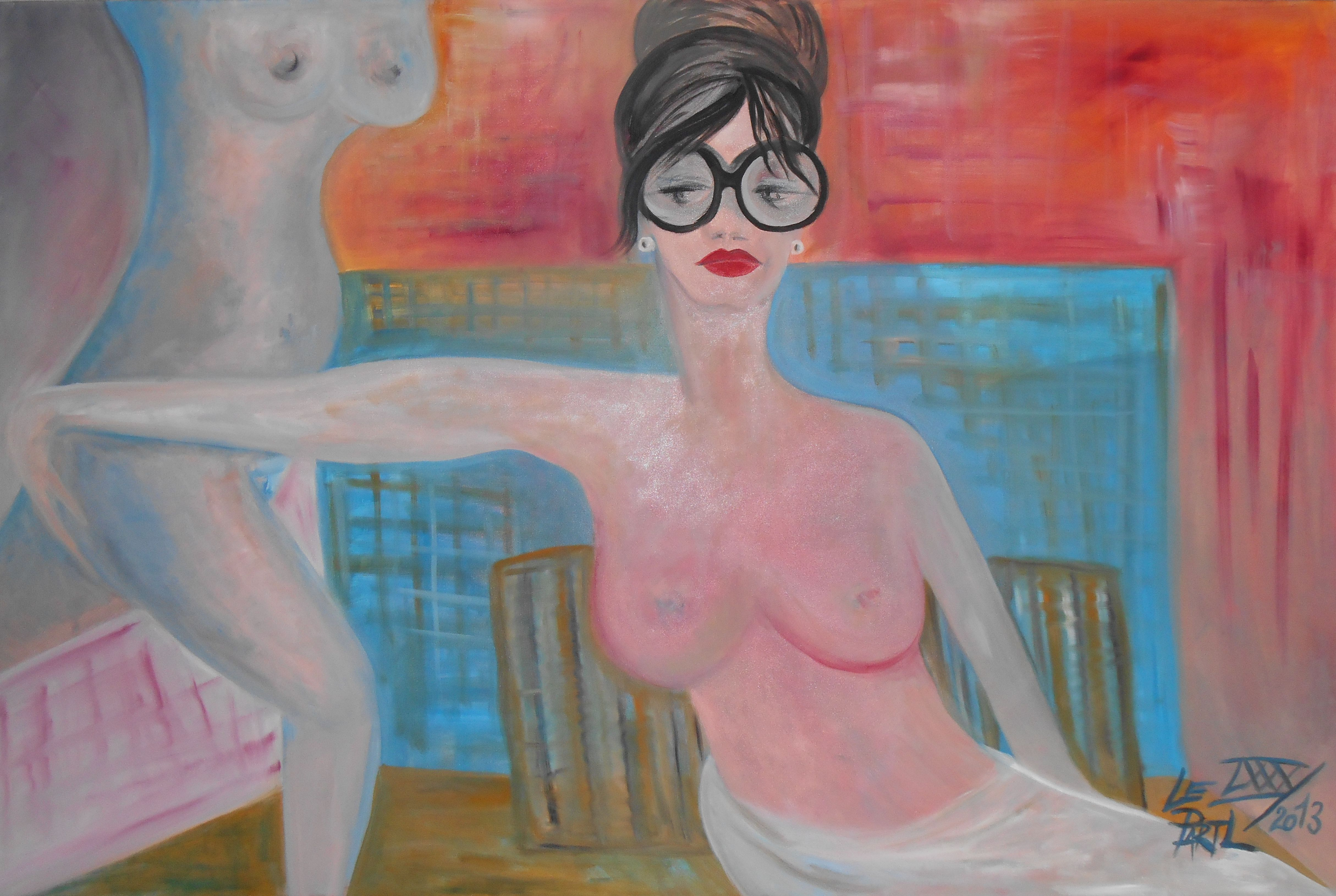 Bad Dreams artwork by Lenka Le Partl - art listed for sale on Artplode