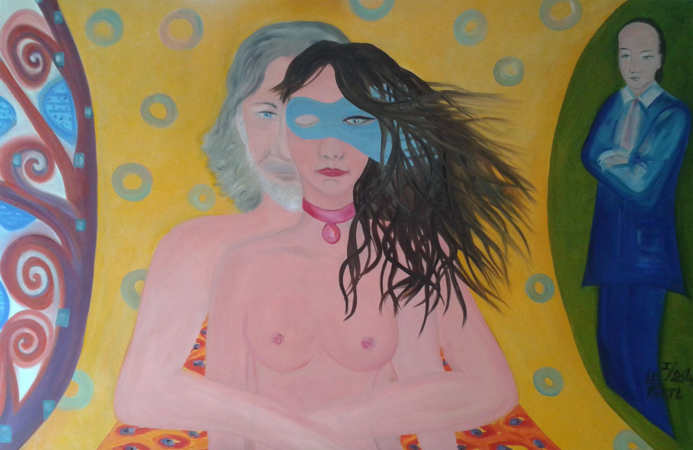 Love test artwork by Lenka Le Partl - art listed for sale on Artplode