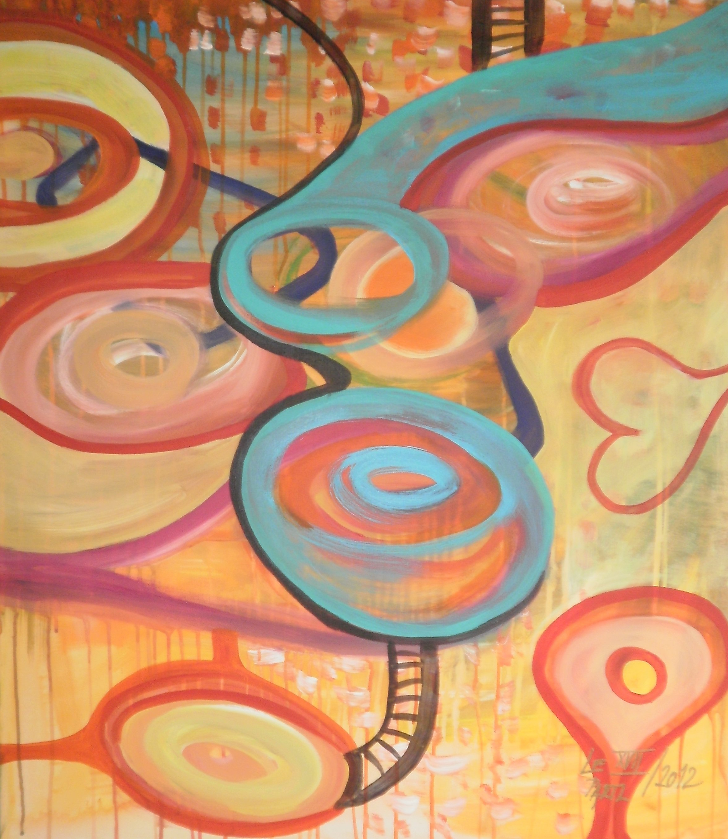 Im what Im  artwork by Lenka Le Partl - art listed for sale on Artplode