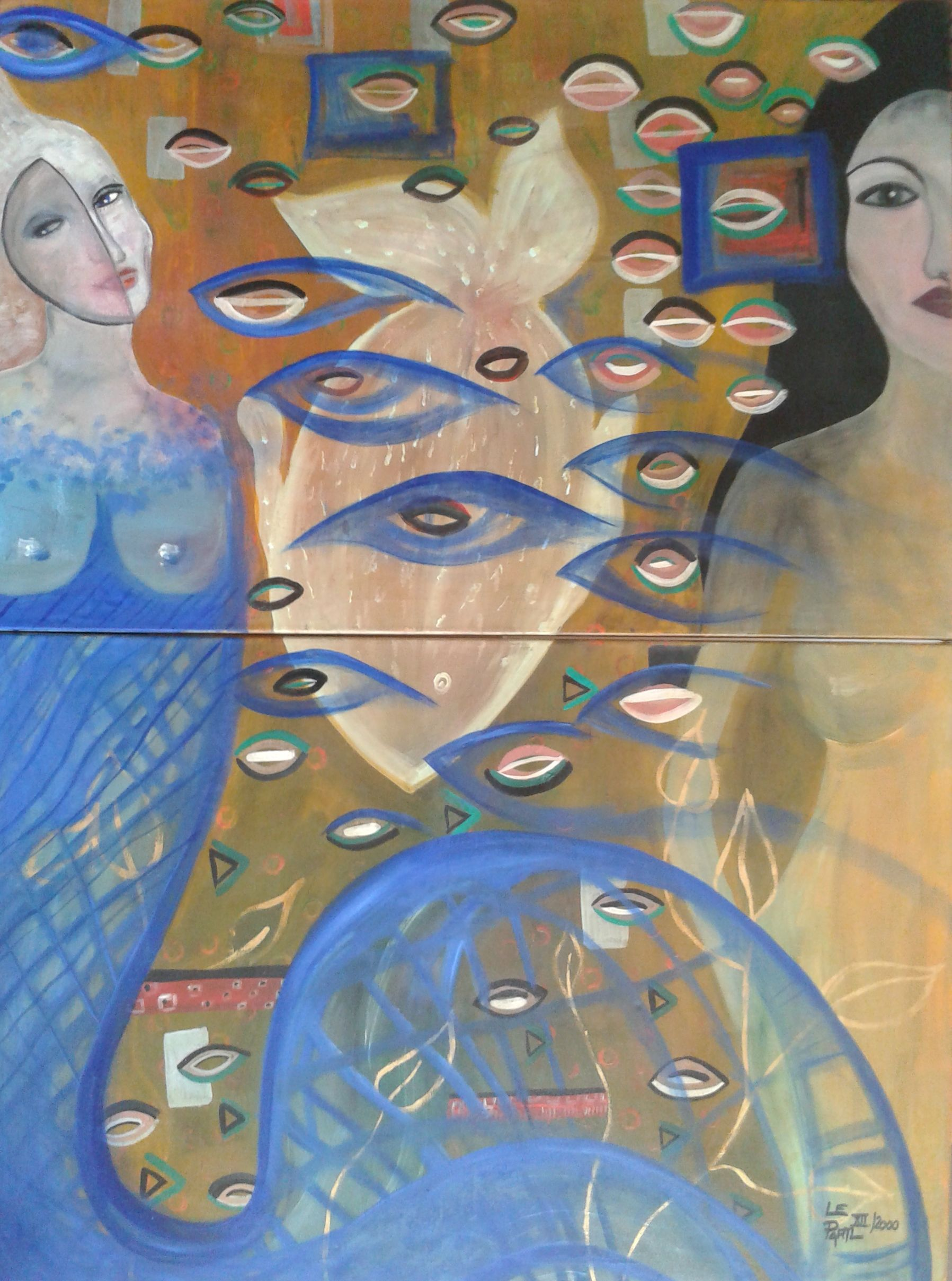 The Past artwork by Lenka Le Partl - art listed for sale on Artplode