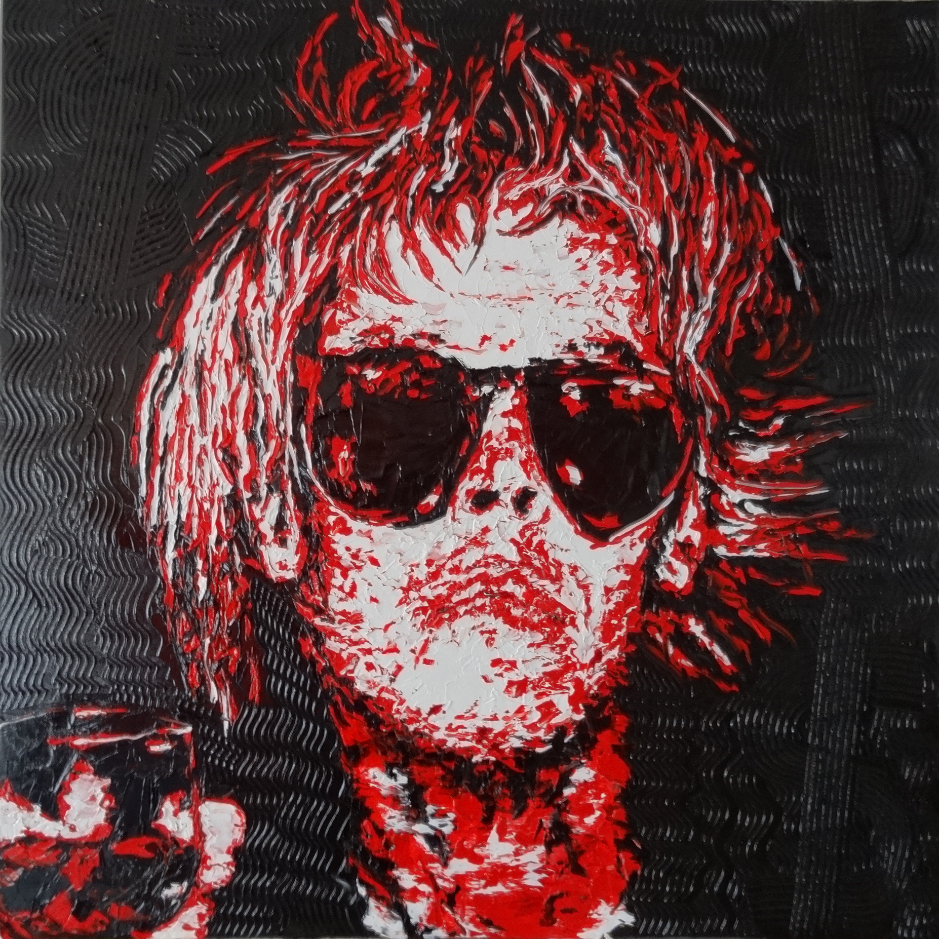 Warhol Selfportrait No1 artwork by HARRYS - art listed for sale on Artplode