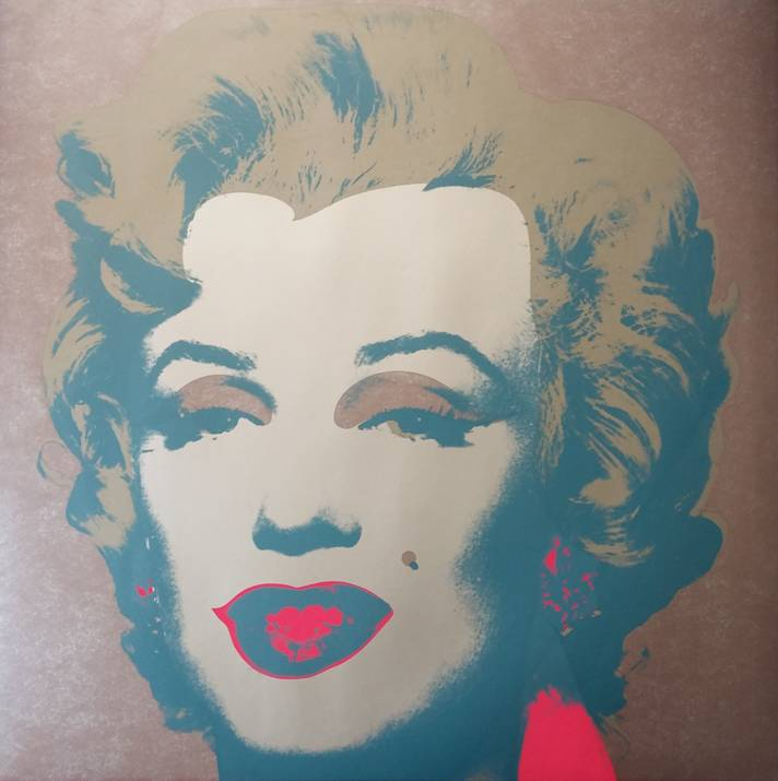 Marilyn 26 artwork by Andy Warhol - art listed for sale on Artplode
