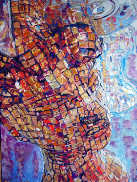 Faces artwork by Manuella Muerner Marioni - art listed for sale on Artplode