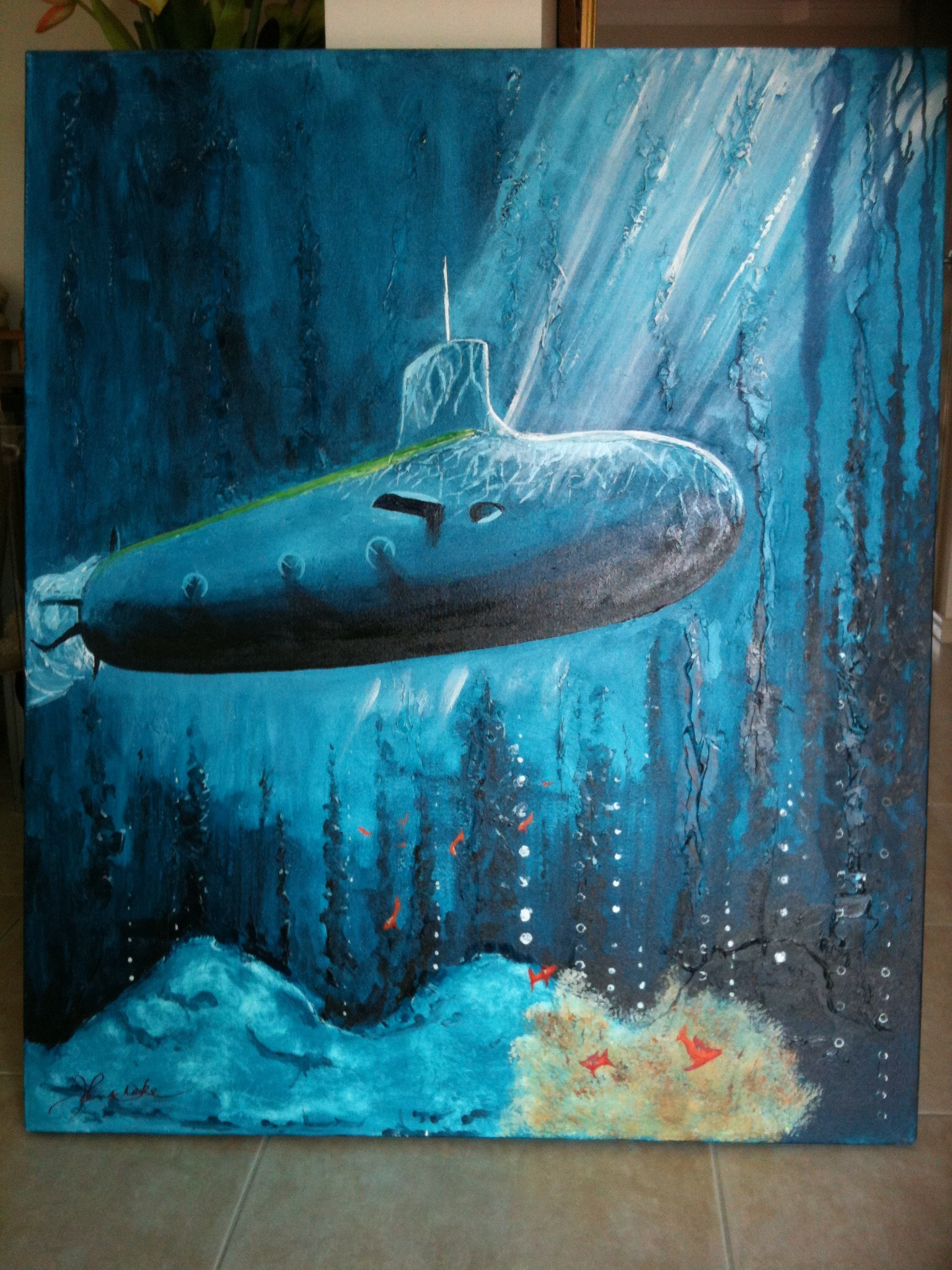Nuclear Grace artwork by William John - art listed for sale on Artplode