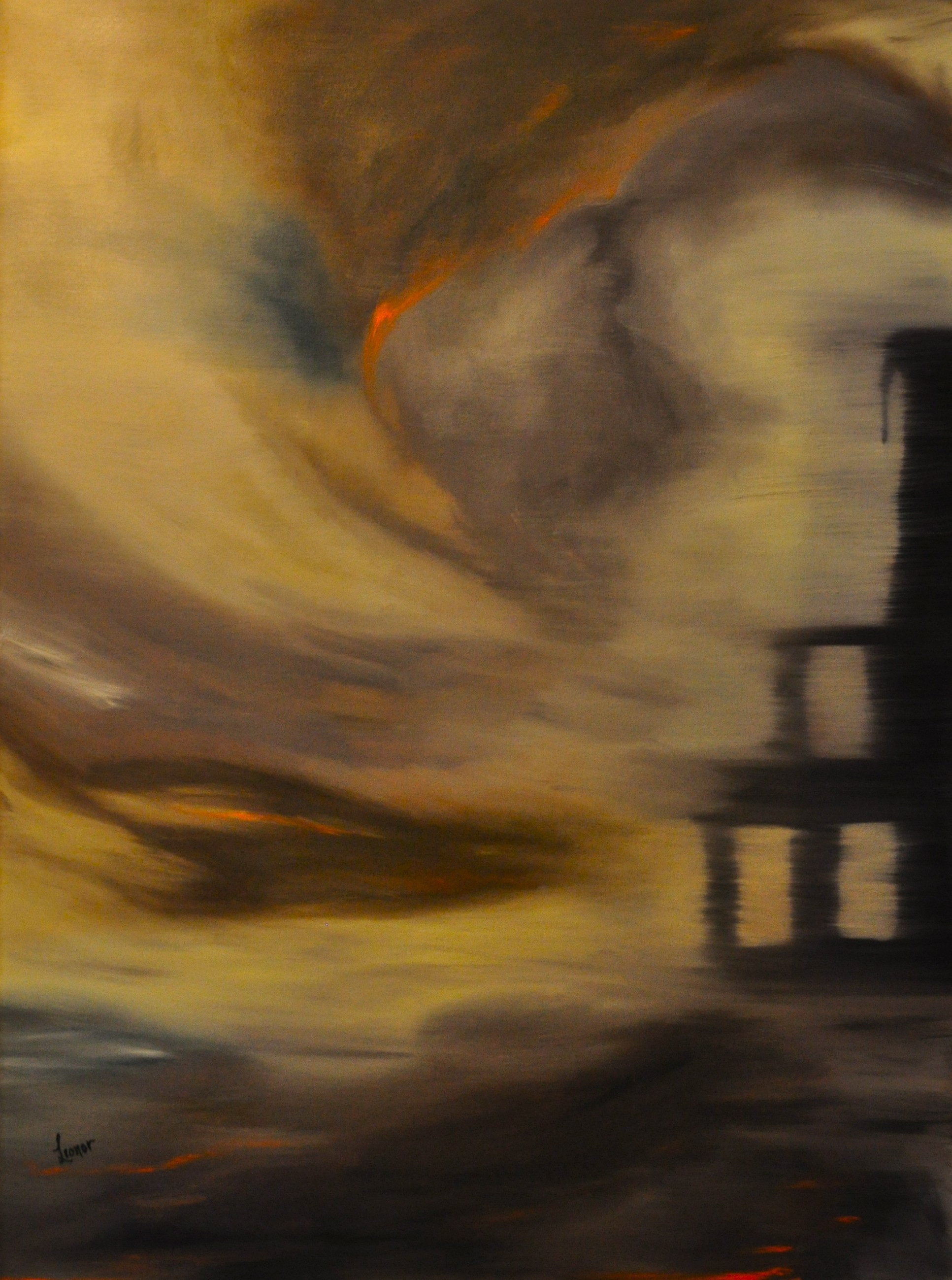 Gernika artwork by Leonor Anthony - art listed for sale on Artplode
