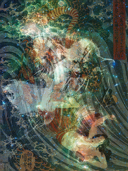 Yoda in Dream State artwork by G. KNIGHT - art listed for sale on Artplode