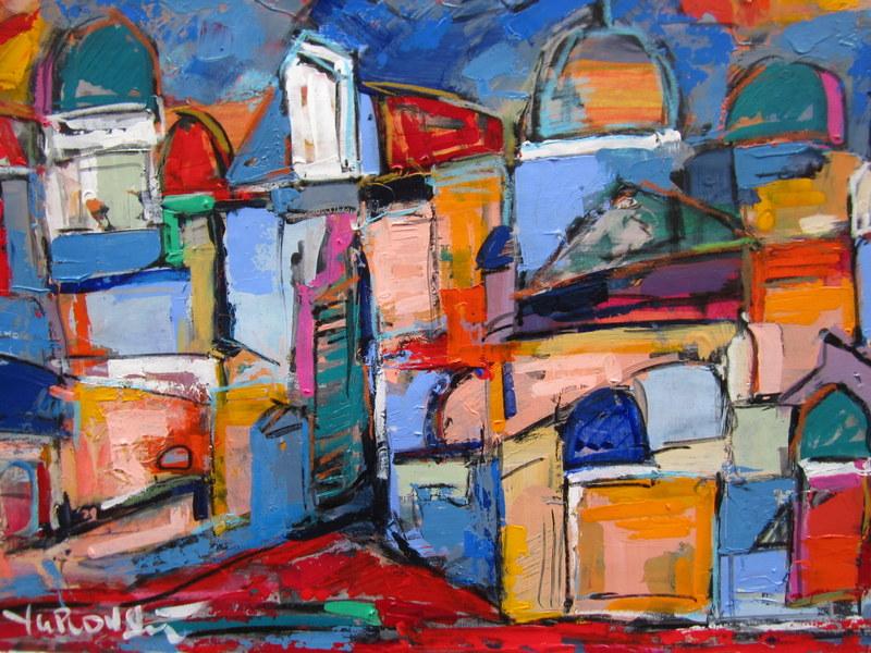 Rome 01 artwork by len yurovsky - art listed for sale on Artplode