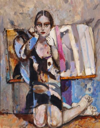 Model , art for sale online by Anton Antonov