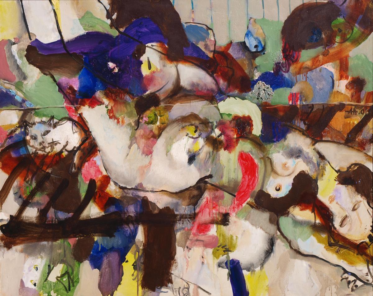 In the studio artwork by Anton Antonov - art listed for sale on Artplode