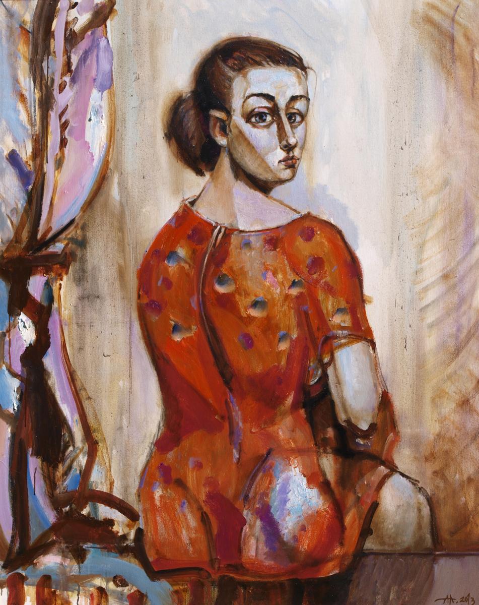 She artwork by Anton Antonov - art listed for sale on Artplode