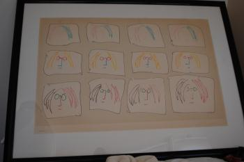 MULTIPLE SELF PORTRAIT, art for sale online by John Lennon