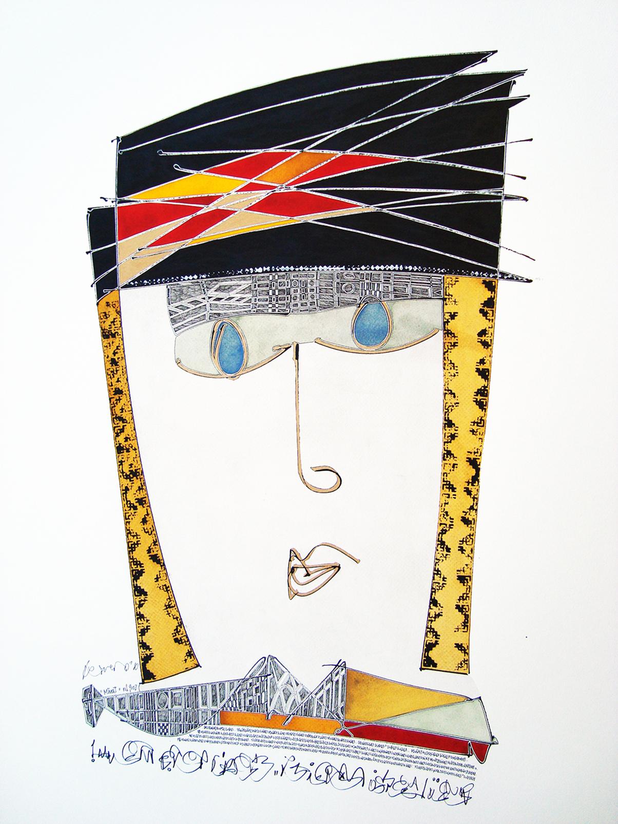 Murat artwork by Juan Carlos Norero - art listed for sale on Artplode