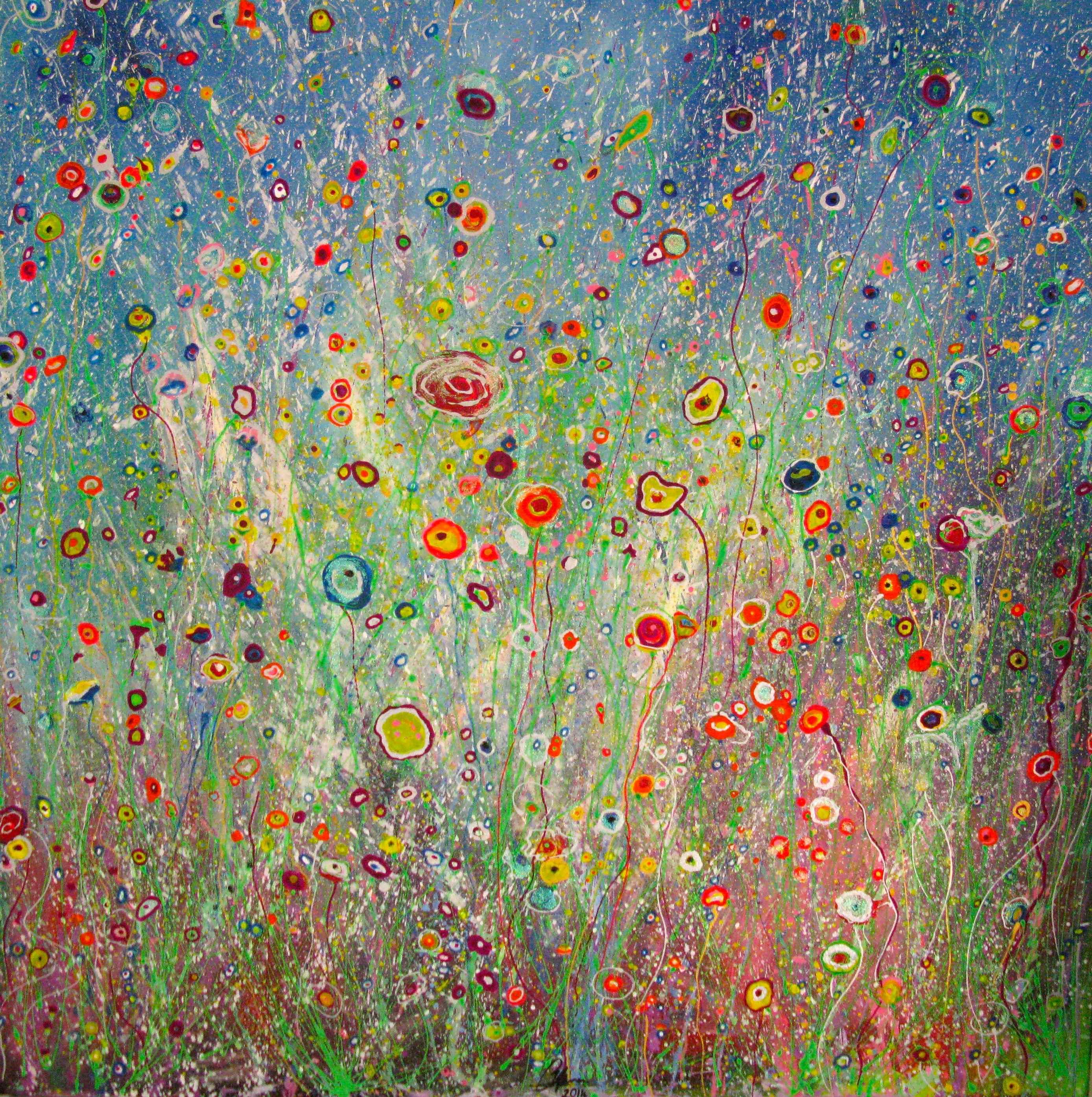 Wild Summer 1 artwork by Cheney Fairchild - art listed for sale on Artplode