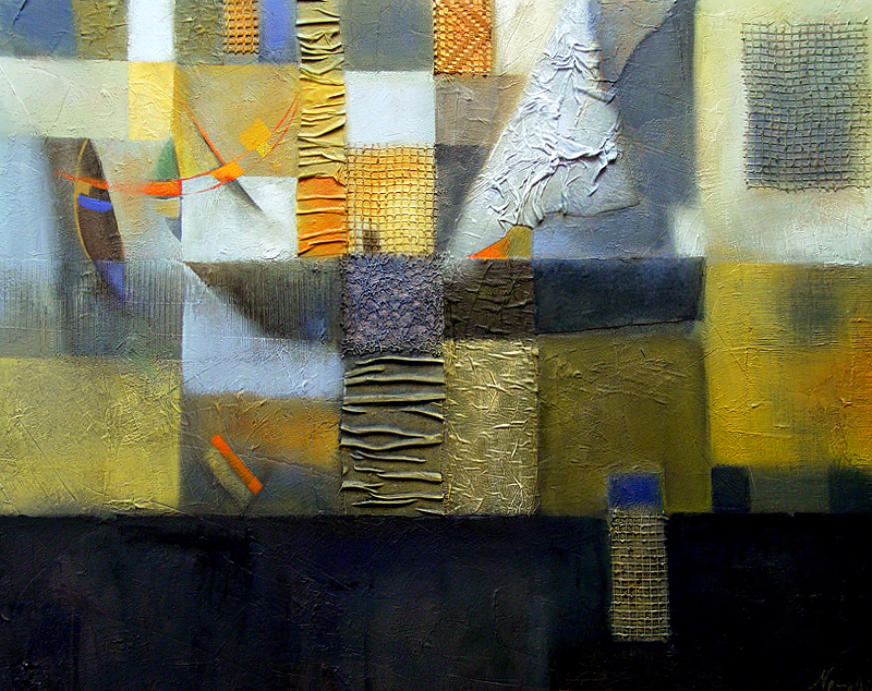 Roadstead artwork by Natalia Kaza - art listed for sale on Artplode