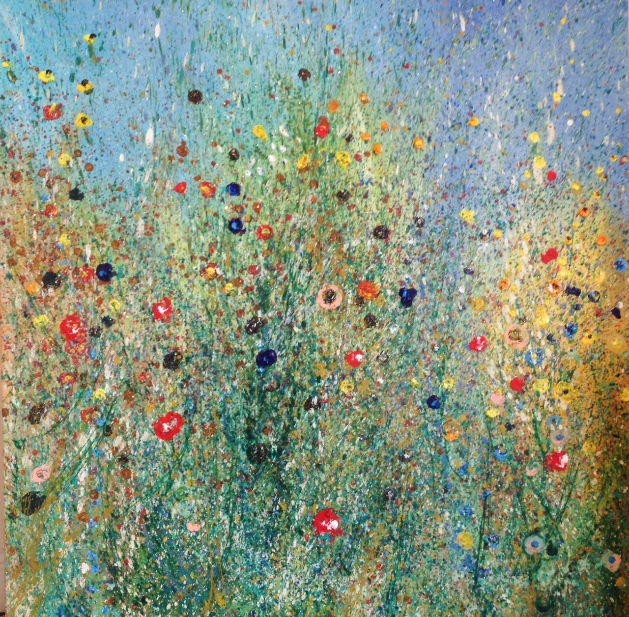 Wild Summer 2 artwork by Cheney Fairchild - art listed for sale on Artplode