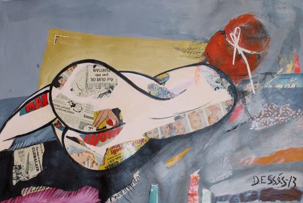 Feeling Pop artwork by Deborah Esses - art listed for sale on Artplode