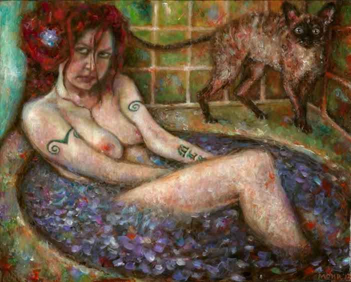 Relax artwork by Carrie-Ann Mohr - art listed for sale on Artplode