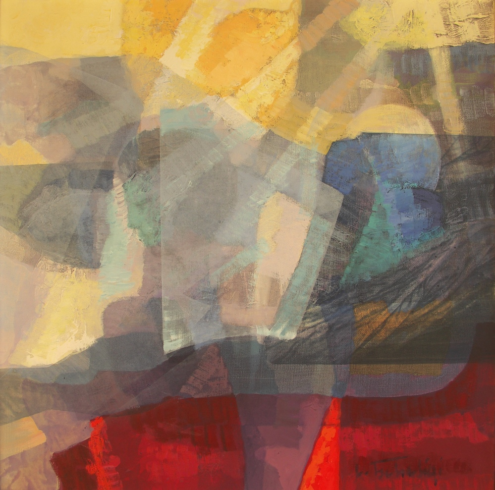 The Reason of Life artwork by Lajos Tscheligi - art listed for sale on Artplode