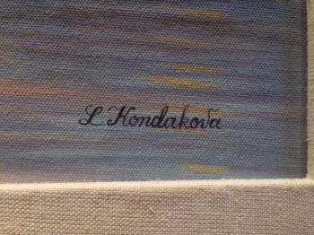 Quai di Conti artwork by Liudmila Kondakova