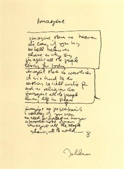 buy and sell art online - John Lennon Art